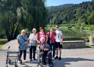 Izlet na Podpeško jezero