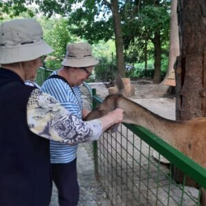 Obisk Zoo Park Rožman dom upokojencev Vrhnika